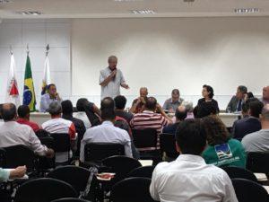 Betão participa de discussão sobre crime em Brumadinho no Fórum Mineiro de Comitês de Bacias Hidrográficas de Minas Gerais