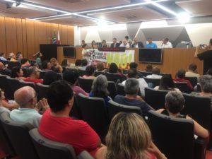 Betão discute prejuízos da aprovação da Reforma da Previdência com representantes das centrais e sindicados; para o deputado é hora de ir para as ruas informar à população