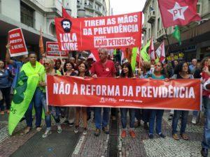 """Juiz de Fora vai às ruas para protestar contra a Reforma da Previdência; Betão reforça """"vai ser uma luta intensa, mas temos que discutir o tema com toda sociedade"""""""
