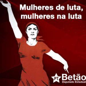 Mulheres de luta, mulheres na luta