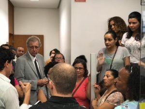 Funcionários da MGS pedem apoio à Betão contra as demissões; deputado   convoca audiência pública da discutir a situação dos trabalhadores
