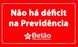 """Levantamento comprova fala de Betão """"não há déficit na Previdência""""; dívida das empresas com a seguridade social ultrapassa R$ 1 trilhão"""