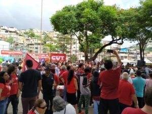 Dia do Trabalhador em Juiz de Fora: ato contra a reforma da Previdência e por Lula Livre