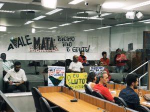 Betão pede a reestatização da Vale em audiência sobre violação dos direitos humanos em comunidades ligadas às barragens