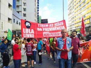 GREVE GERAL reúne milhares de pessoas em Juiz de Fora contra a reforma da Previdência de Bolsonaro