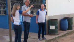 Betão destaca a importância da educação pública de qualidade em visita à Cataguases