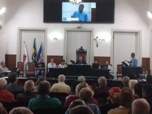 Mandato do deputado Betão participa de audiência pública na Câmara de Juiz de Fora contra a privatização da CEMIG