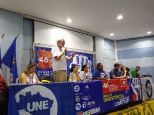 Betão defende a educação pública como pauta prioritária durante lançamento da Frente Mineira em Defesa da Educação