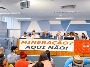 Moradores da Serra do Brigadeiro e região dizem não à tentativa de avanço da mineração na Zona da Mata