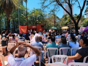 Trabalhadores rejeitam proposta do governo Zema de privatizar a saúde em Minas Gerais