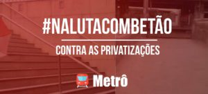 Entrevista: Contra as privatizações -Romeu – Presidente do Sindicato dos Metroviários de MG