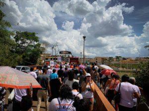 Movimentos sociais, sindicatos e moradores de Brumadinho se unem em um ato pela soberania nacional e a reestatização da Vale
