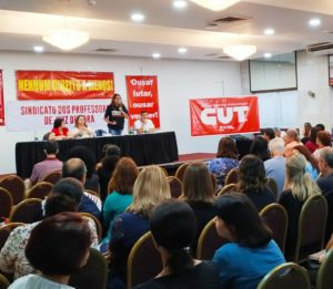 Magistério municipal deflagra greve da categoria a partir dia 19 de fevereiro