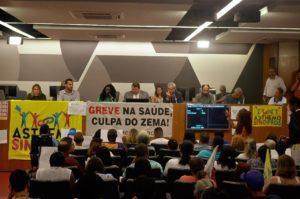 Trabalhadores da Fhemig exigem melhores condições de trabalho e atendimento e cobram mais diálogo com o governo estadual