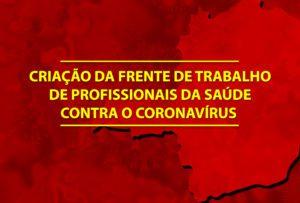 Betão propõe a criação da Frente de Trabalho de Profissionais da Saúde contra o coronavírus