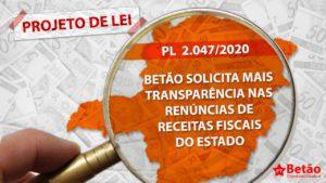 PL apresentado por Betão prevê mais transparência na divulgação das renúncias de receitas fiscais