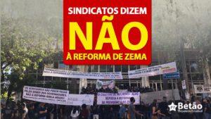 """Sindicatos em defesa dos servidores públicos dizem NÃO à reforma da Previdência de Zema: """"Inconstitucional e fora da hora"""", definem"""