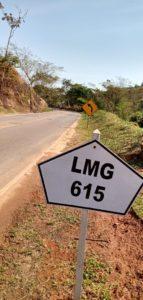 Betão cobra do governo de Minas recapeamento urgente da LMG 615,  entre Antônio Prado de Minas e Eugenópolis