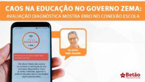Primeiro dia do Avaliação Diagnóstica é marcado pelo caos: alunos e professores reclamam de erro no Conexão Escola