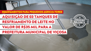 Betão fomenta trabalho dos produtores de leite de Viçosa e reforça a importância da EMATER