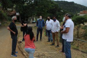 Betão visita bairro Terras Altas em Juiz de Fora e soma esforços aos moradores no processo de melhorias e oficialização do bairro
