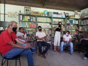 Betão visita escolas em Ubá e discute com a comunidade propostas para a melhoria da educação pública