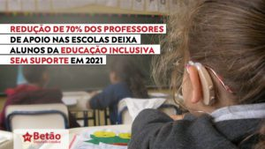 Memorando do Governo Zema pode diminuir número de profissionais da educação inclusiva em Minas Gerais