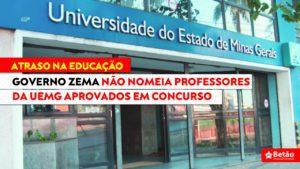 Governo Zema não nomeia professores da UEMG e docentes de diversas áreas aguardam efetivação do concurso público