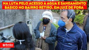 Mandatos do deputado estadual Betão e da vereadora Cida fazem visita técnica ao Bairro Retiro em busca de solução para os problemas de saneamento e abastecimento de água na região