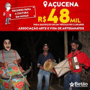 Associação Arte e Vida de Artesanatos adquire veículo por meio de emenda destinada pelo deputado Betão para fomento à Cultura em Açucena