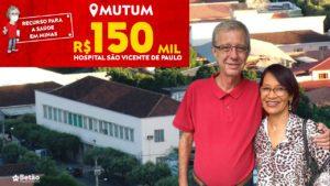 Emenda destinada por Betão ao Hospital São Vicente de Paulo em Mutum será usada para melhorar e modernizar a política de atenção hospitalar