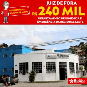 Deputado Betão destina recursos para a compra de EPIs para o Departamento de Urgência e Emergência da Regional Leste